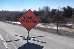 Free Women Working Sign Royalty Free Stock Photo - 86663645