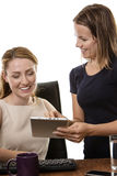 Women working together Stock Photography