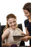 Women working together Stock Photos