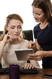 Women working together Royalty Free Stock Photography