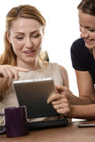 Women working together Royalty Free Stock Images