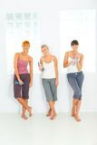 Women after workout Royalty Free Stock Photos