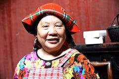 Women  in Wuyuan County, Jiangxi, China Royalty Free Stock Images