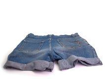 Women& x27; pantalones cortos de los vaqueros de s Fotos de archivo libres de regalías