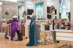 Women's clothing section in supermarket Siam Paragon. Bangkok, Thailand Stock Image