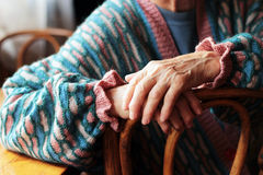 Women's hands Stock Images