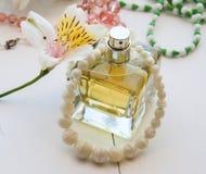 Women's perfume Stock Image