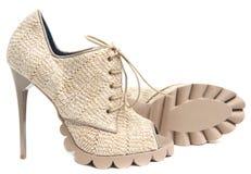 Free Women&x27;s High-heeled Shoes Stock Photo - 37254860