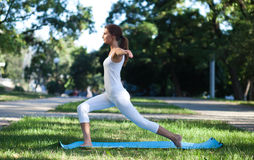 Women and Yoga Royalty Free Stock Photography