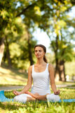 Women and Yoga Stock Image