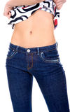 Womens belly Stock Photos
