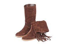 Womens boots Stock Photography