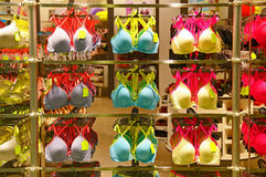 Womens bra collection Stock Image