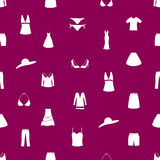 Womens clothing icon pattern eps10 Stock Photography