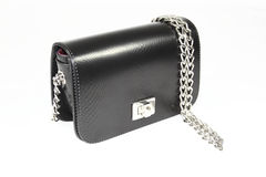 Womens clutch day handbag Stock Images