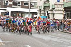 Womens Cycling Race Royalty Free Stock Photography