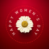 Womens Day Card Stock Images