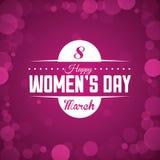 Womens day. Design, illustration eps10 graphic royalty free illustration