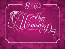 Womens day. Design, vector illustration eps10 graphic stock illustration