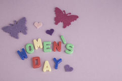Womens day greeting Stock Photos