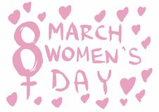 Womens day Stock Photography