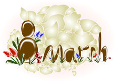 Womens day 8 march background. EPS10 vector illustration.  vector illustration
