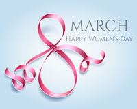 Womens day 8 march element. Woman international celebration vector template Stock Photography