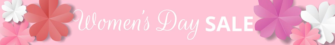 Womens Day origami Royalty Free Stock Photos