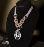 Womens Fashion Accessories Boutique Necklace Royalty Free Stock Images