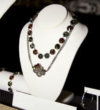 Womens Fashion Accessories Boutique Necklace Stock Photos