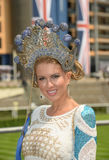 Womens fashion at Royal Ascot Races  Stock Images