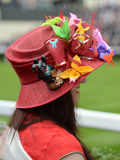 Womens fashion at Royal Ascot Races Royalty Free Stock Photo