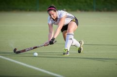 Womens Field Hockey Royalty Free Stock Photo