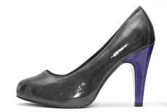 Womens high heels on white background Royalty Free Stock Photos