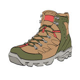 Womens Hiking shoes Royalty Free Stock Photo
