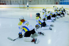 Womens hockey in Ukraine Stock Image