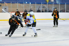 Womens hockey in Ukraine Stock Photos