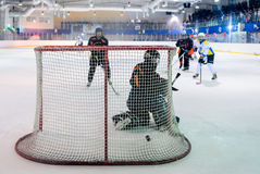 Womens hockey in Ukraine Royalty Free Stock Image
