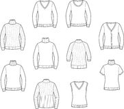 Womens jumpers Stock Photos