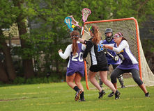 Womens Lacrosse stock images