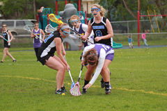 Womens Lacrosse Royalty Free Stock Images