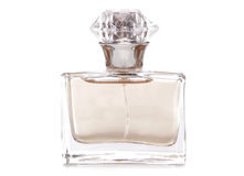 Womens perfume bottle Royalty Free Stock Images