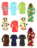 Womens robes Stock Photography
