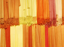Womens scarves Royalty Free Stock Images
