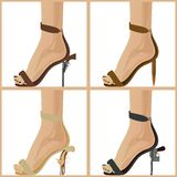 Womens shoes-2 Royalty Free Stock Photo