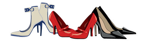 Womens shoes Royalty Free Stock Image