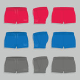 Womens  sport shorts Stock Image