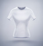 Womens T-Shirt Royalty Free Stock Image