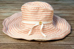 Womn's Sun Hat Royalty Free Stock Images