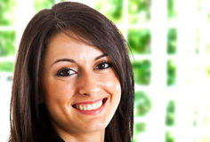Womnan portrait Stock Photo